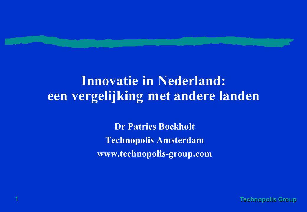 Innovatie in Nederland: een vergelijking met andere landen