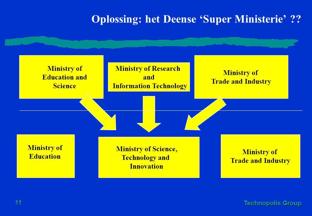 Oplossing: het Deense 'Super Ministerie'