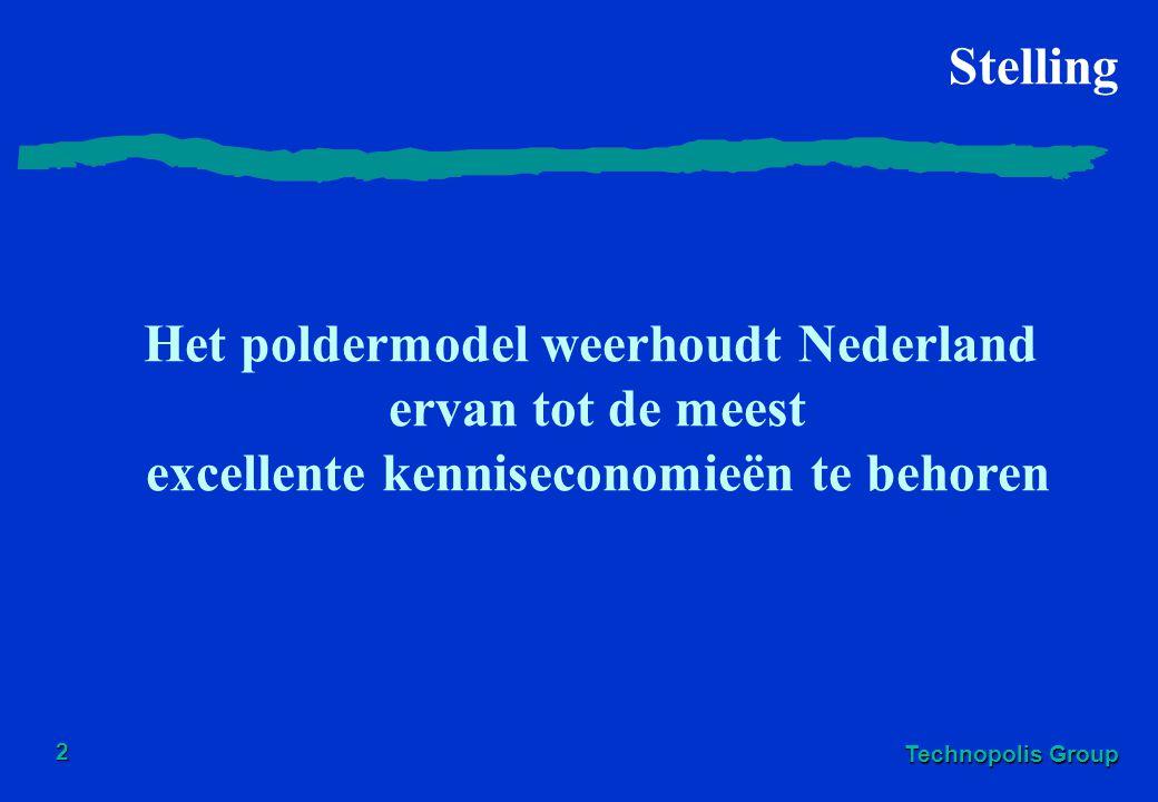 Het poldermodel weerhoudt Nederland ervan tot de meest