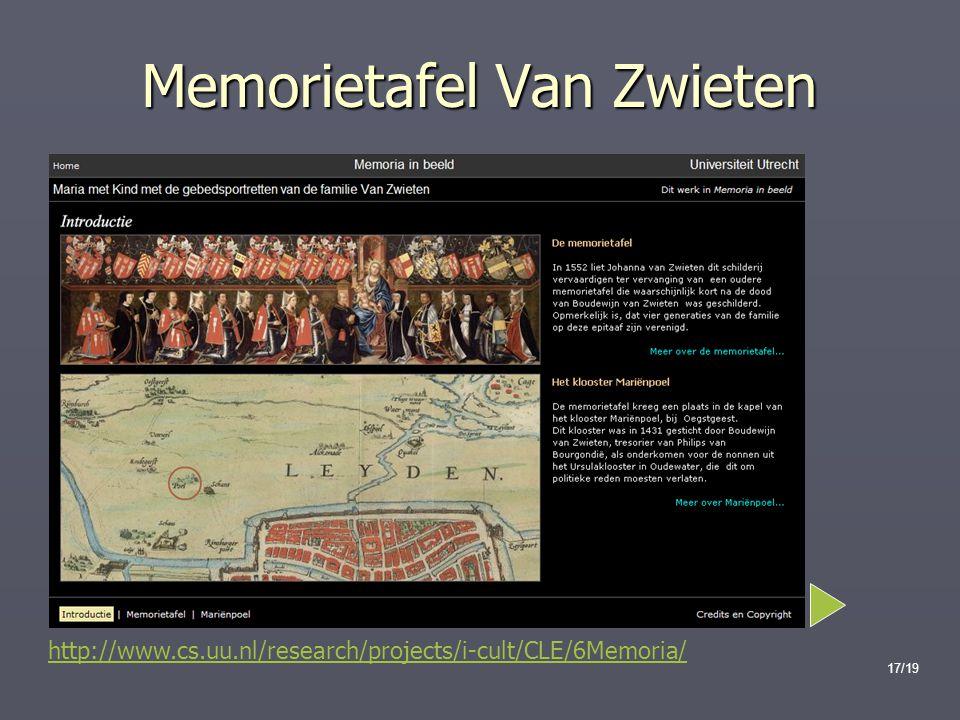 Memorietafel Van Zwieten