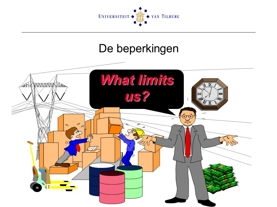 De beperkingen What limits us