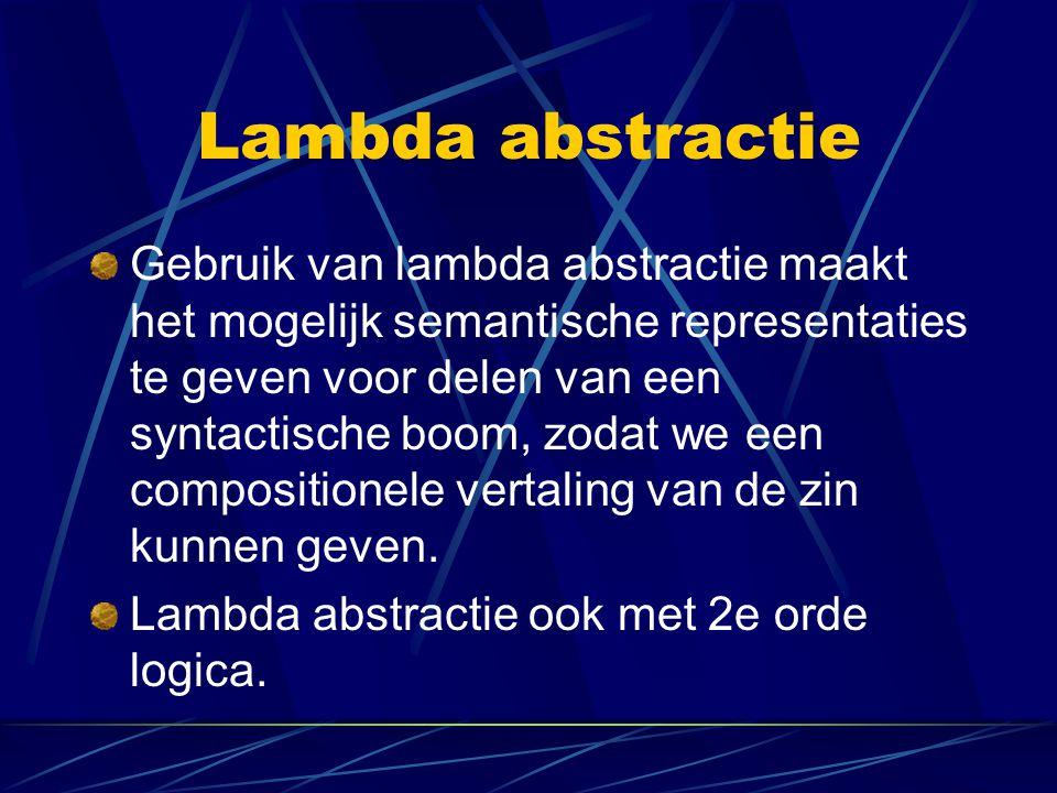 Lambda abstractie