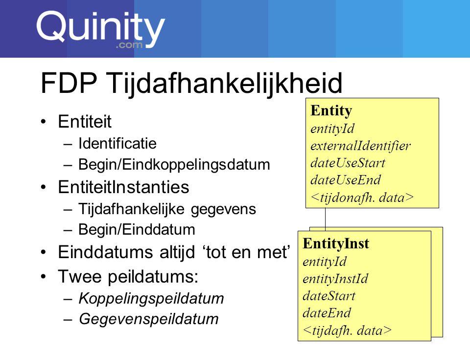 FDP Tijdafhankelijkheid