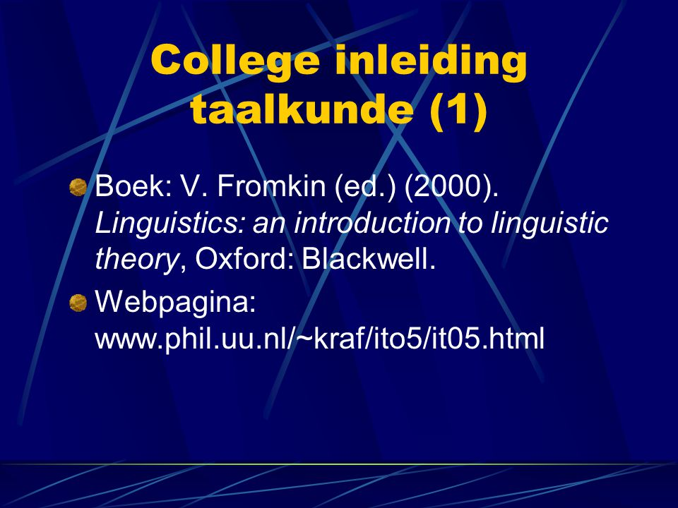 introduction to linguistics fromkin pdf