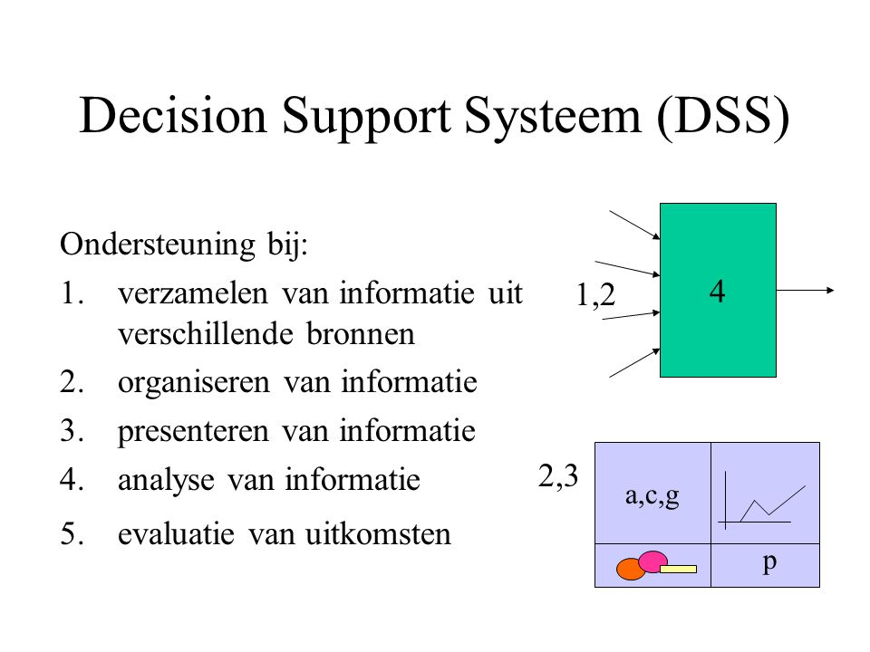 Decision Support Systeem (DSS)