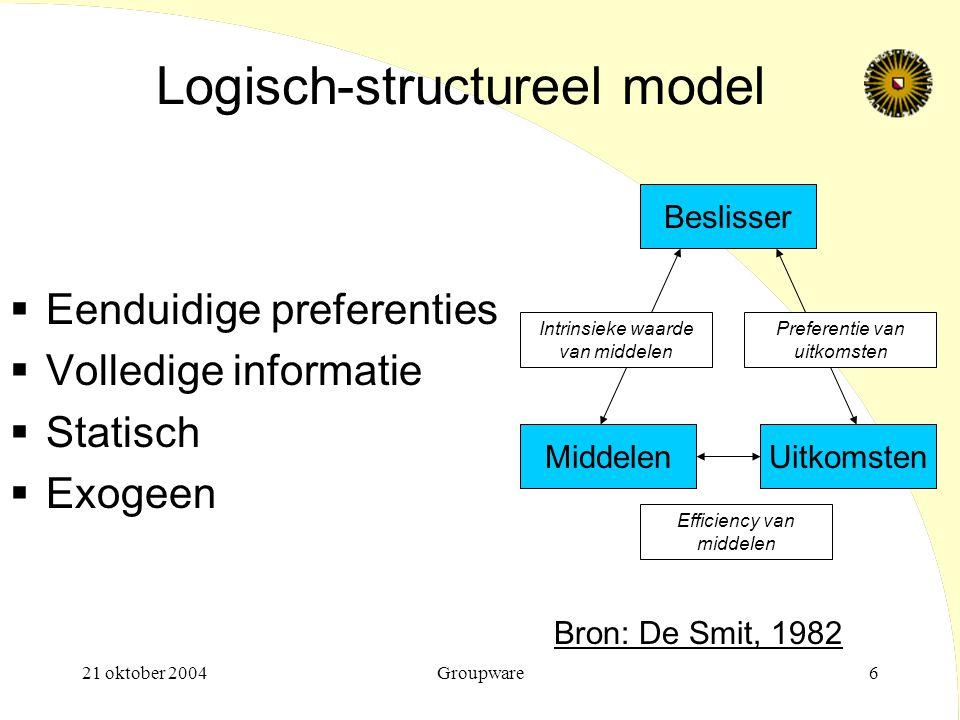 Logisch-structureel model