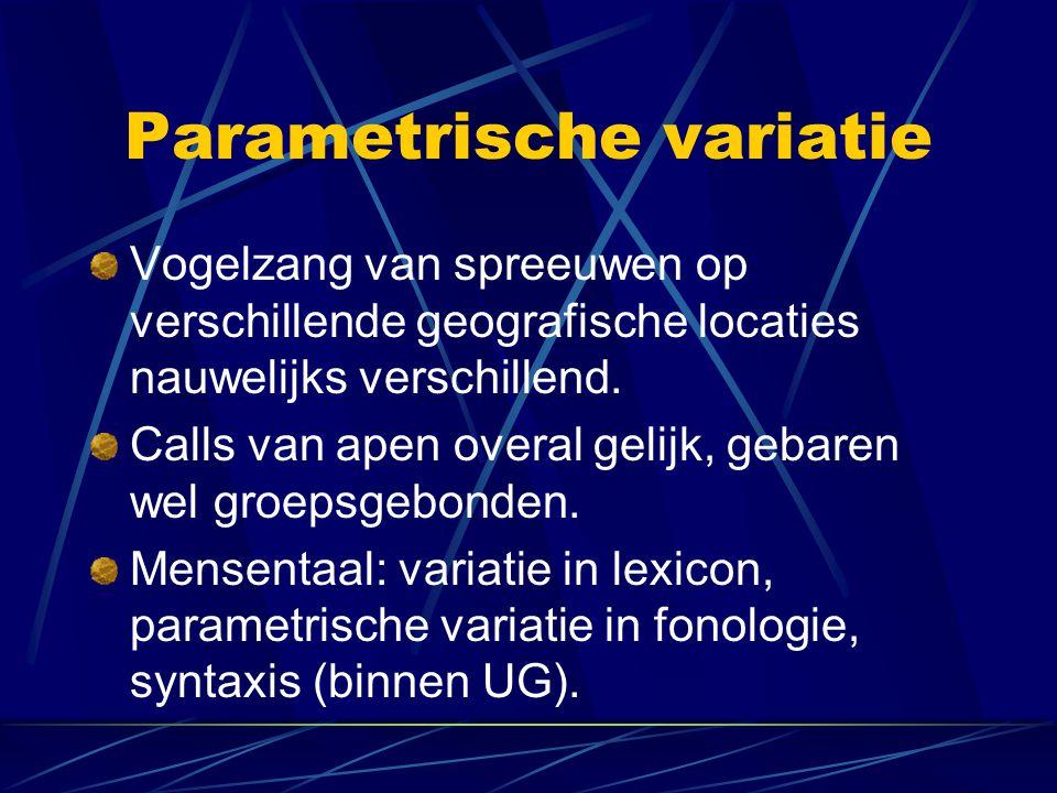 Parametrische variatie