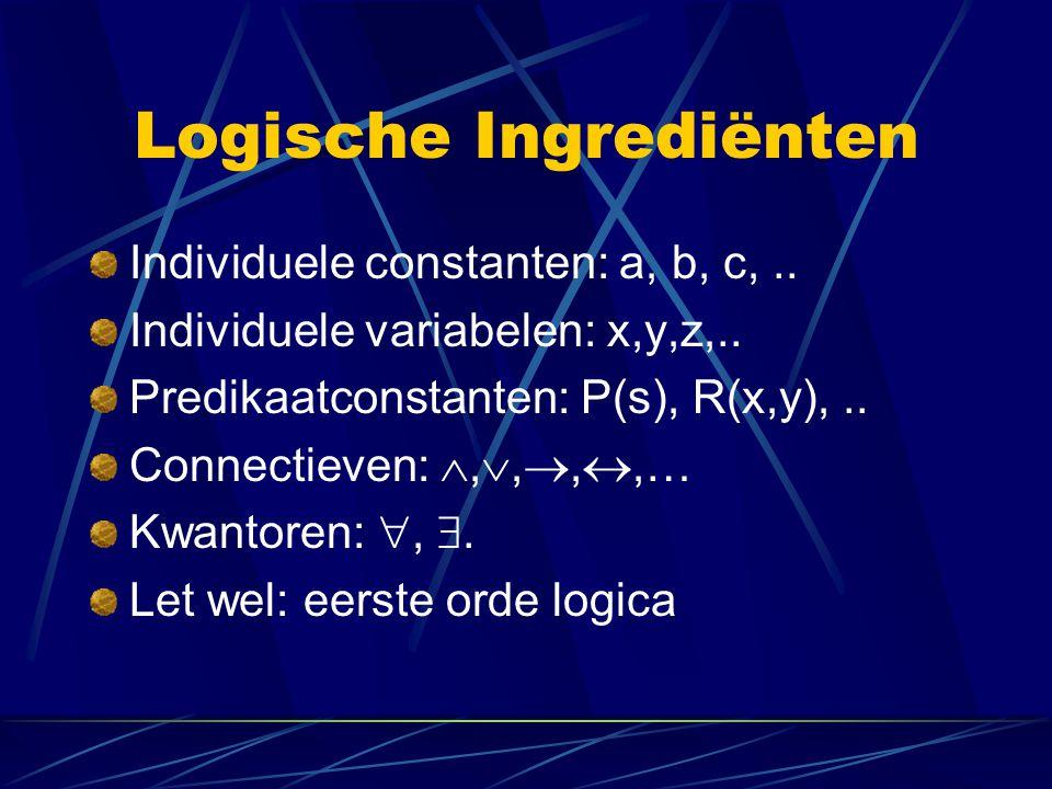 Logische Ingrediënten