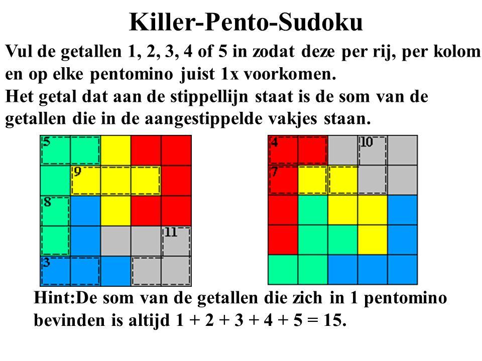 Killer-Pento-Sudoku