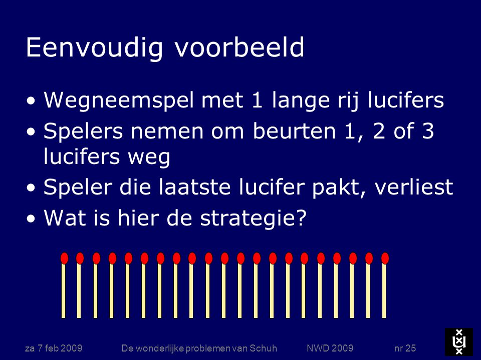 NIM strategie za 7 feb 2009 De wonderlijke problemen van Schuh NWD 2009