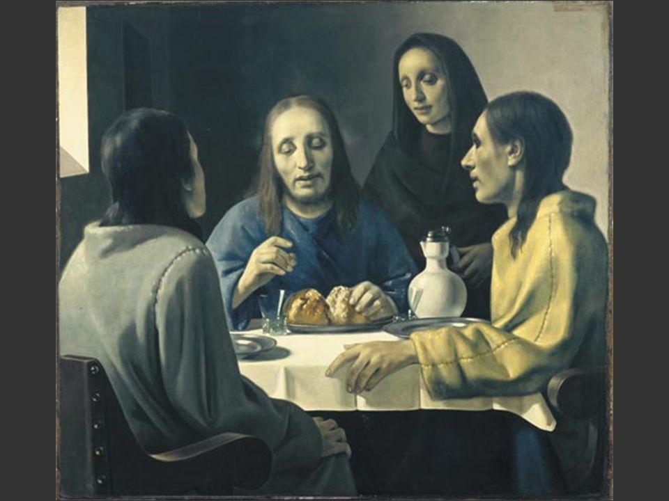 Emmaüsgangers niet van Vermeer, maar van Han van Meegeren (1889-1947)