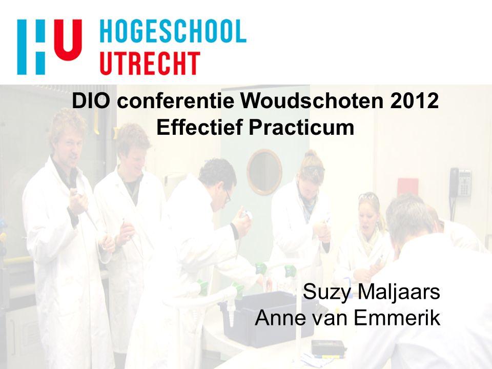 DIO conferentie Woudschoten 2012 Effectief Practicum