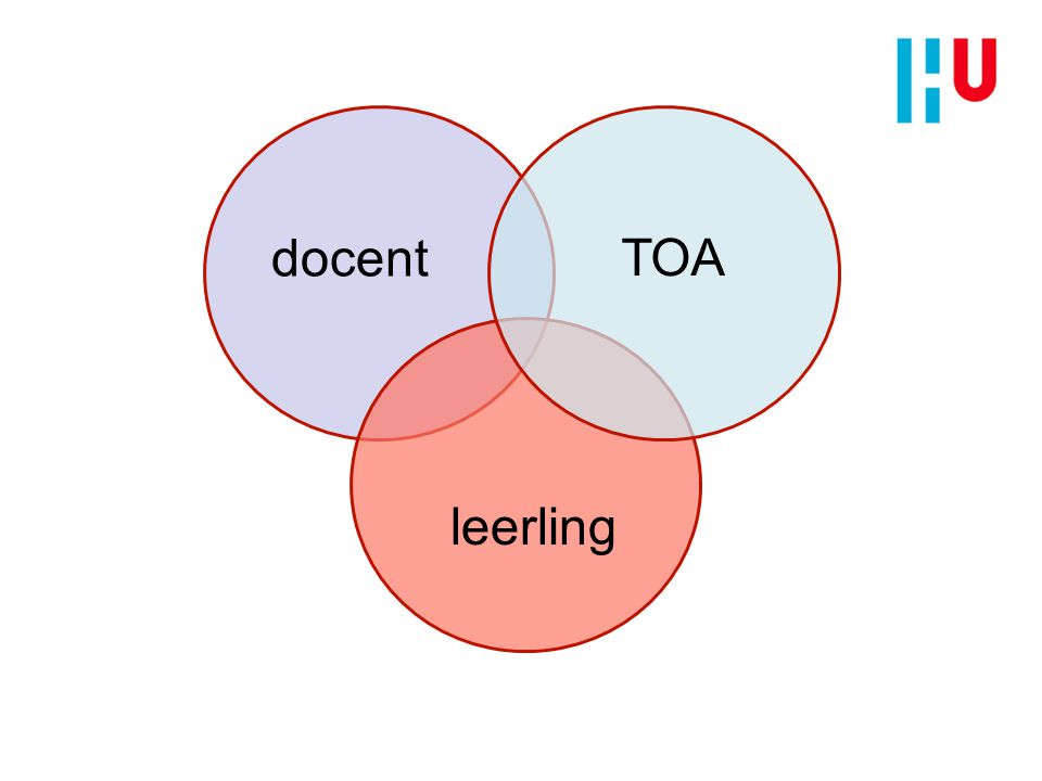docent TOA leerling