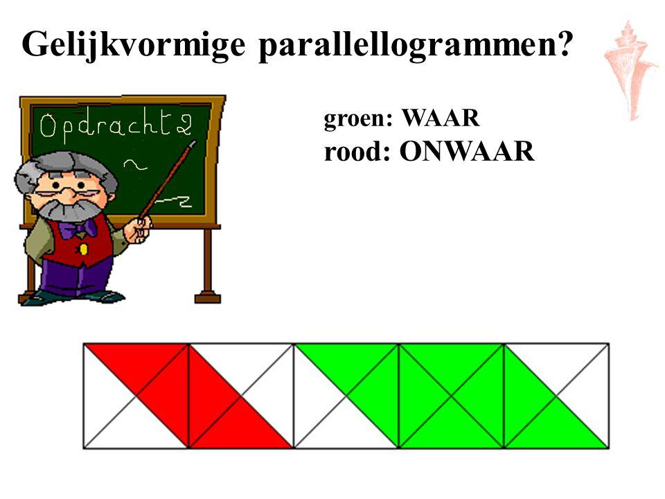 Gelijkvormige parallellogrammen
