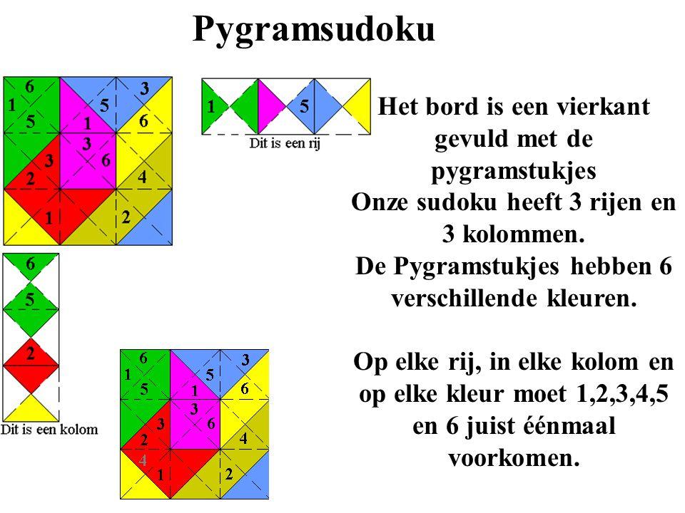 Pygramsudoku