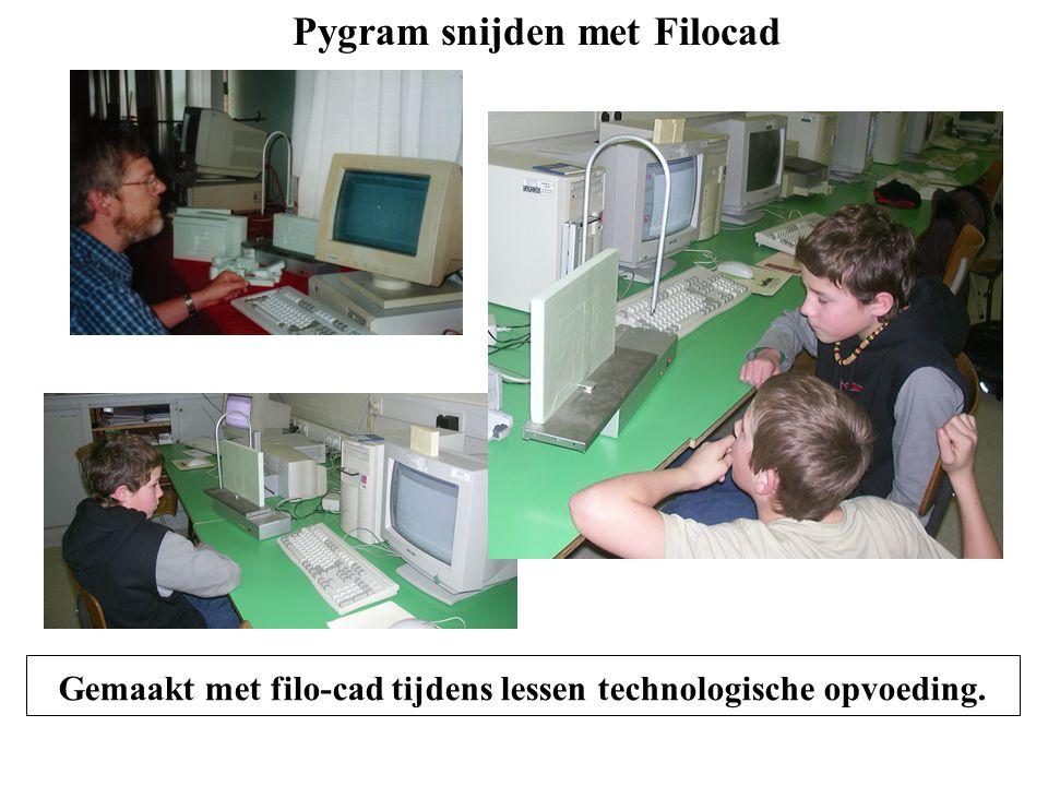 Pygram snijden met Filocad