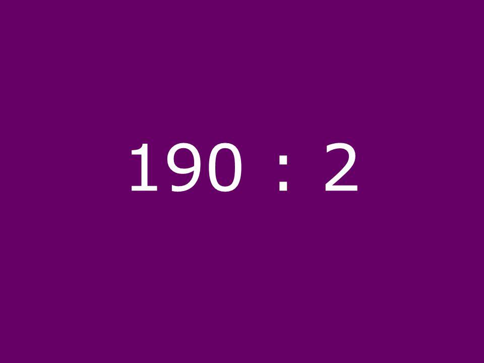 190 : 2