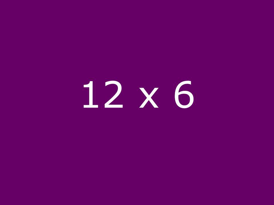 12 x 6