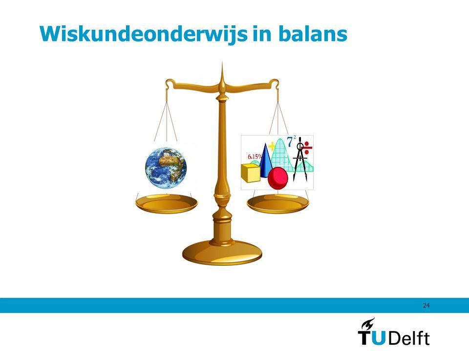 Wiskundeonderwijs in balans