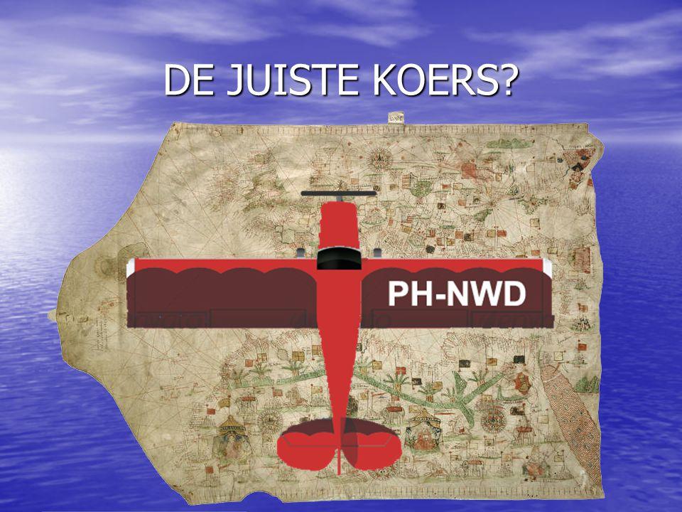 DE JUISTE KOERS