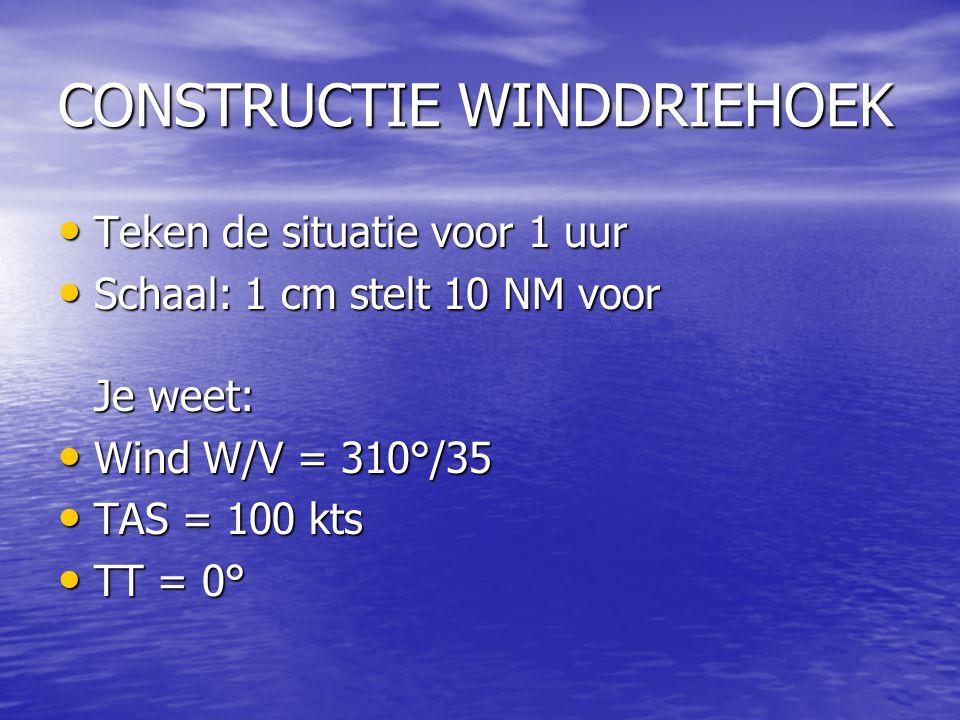 CONSTRUCTIE WINDDRIEHOEK