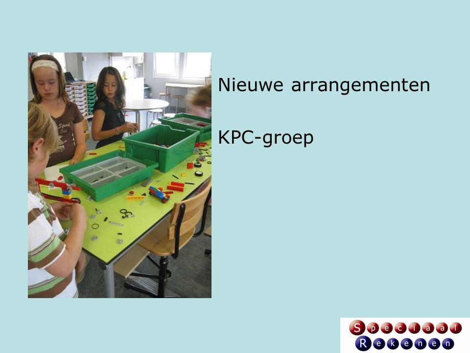 Nieuwe arrangementen KPC-groep