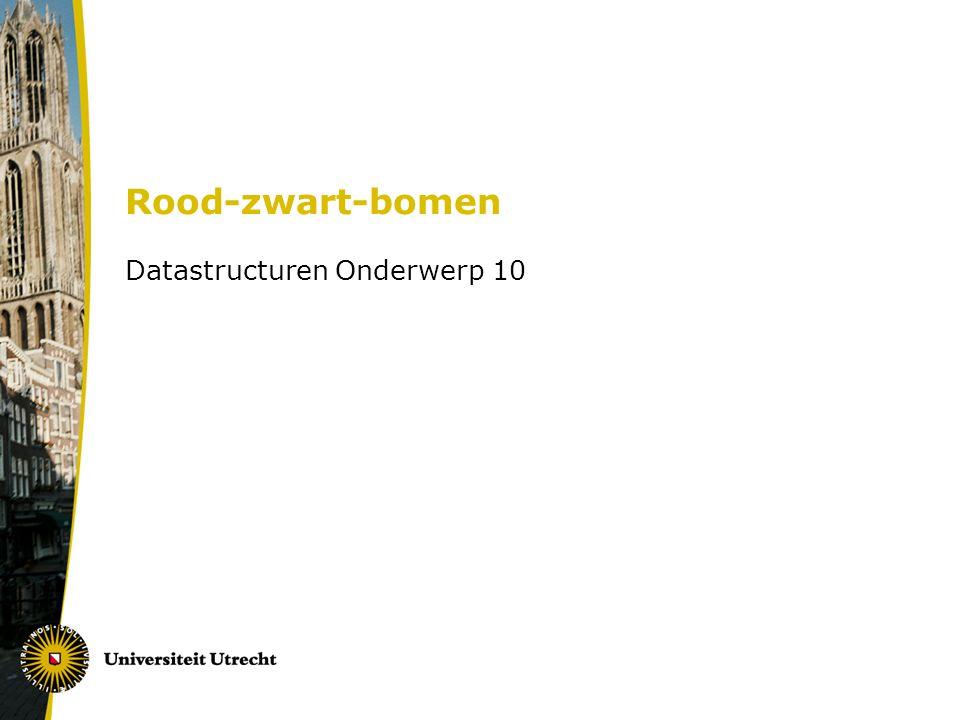 Datastructuren Onderwerp 10