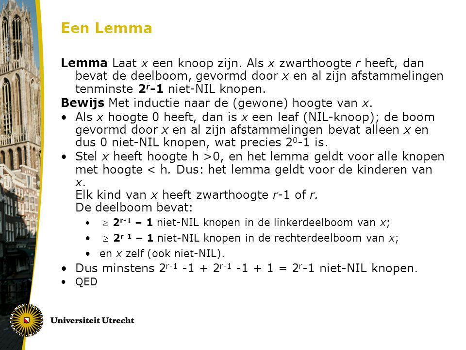 Een Lemma