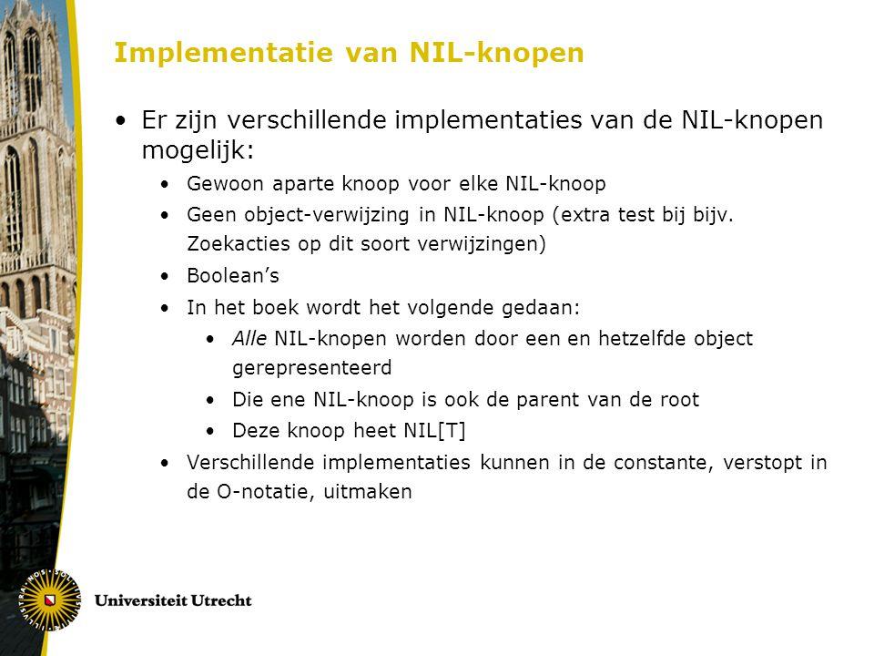 Implementatie van NIL-knopen