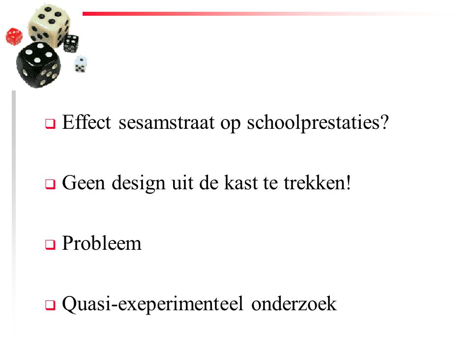 Effect sesamstraat op schoolprestaties