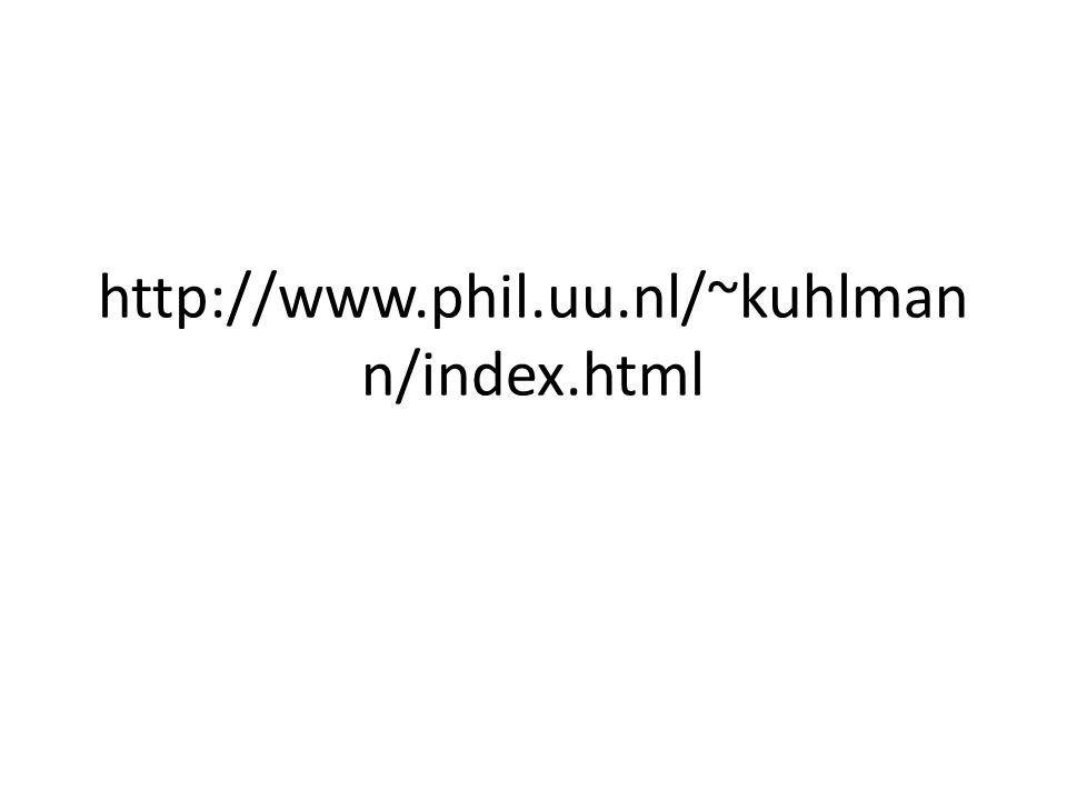 http://www.phil.uu.nl/~kuhlmann/index.html