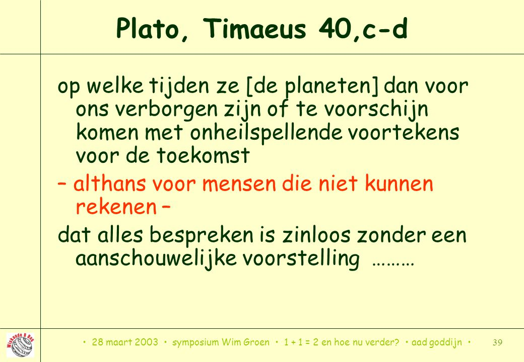 Plato, Timaeus 40,c-d