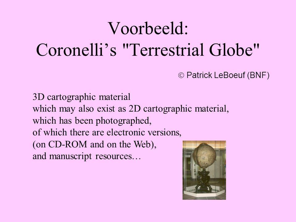 Voorbeeld: Coronelli's Terrestrial Globe