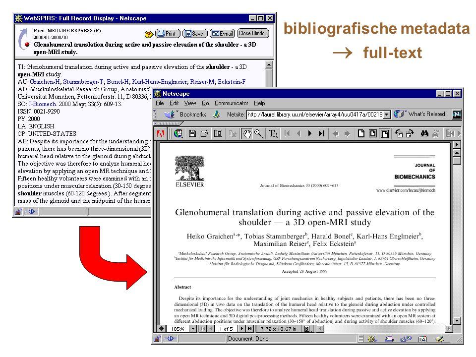 bibliografische metadata