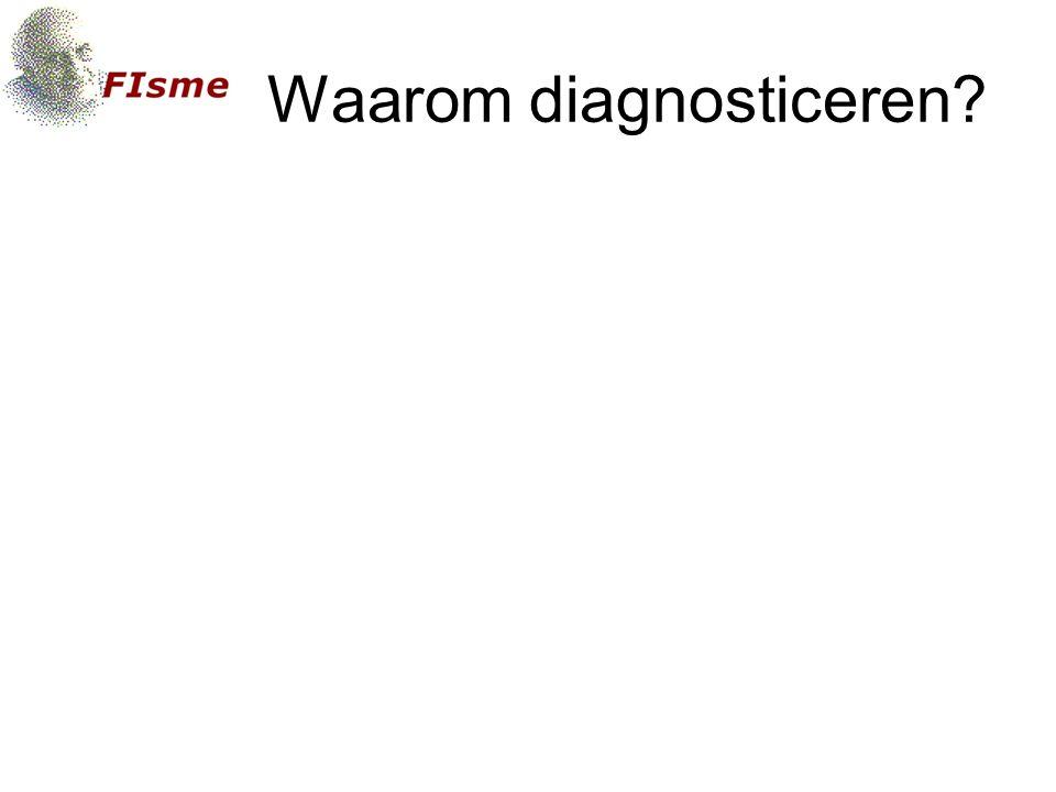 Waarom diagnosticeren
