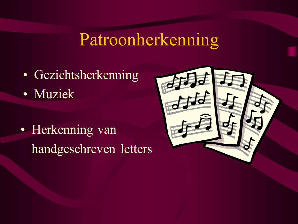 Patroonherkenning Gezichtsherkenning Muziek Herkenning van