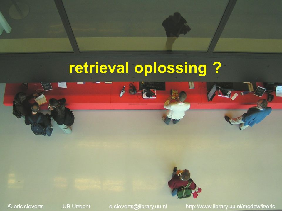 retrieval oplossing .