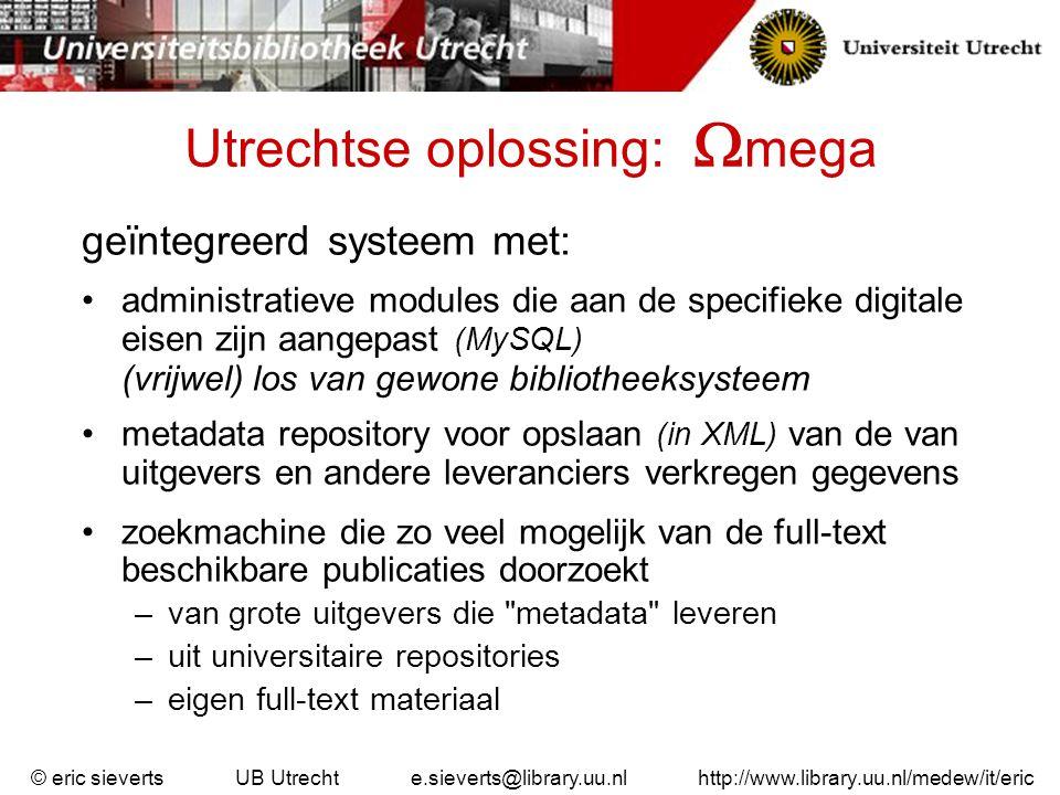 Utrechtse oplossing: mega