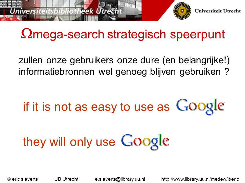 mega-search strategisch speerpunt