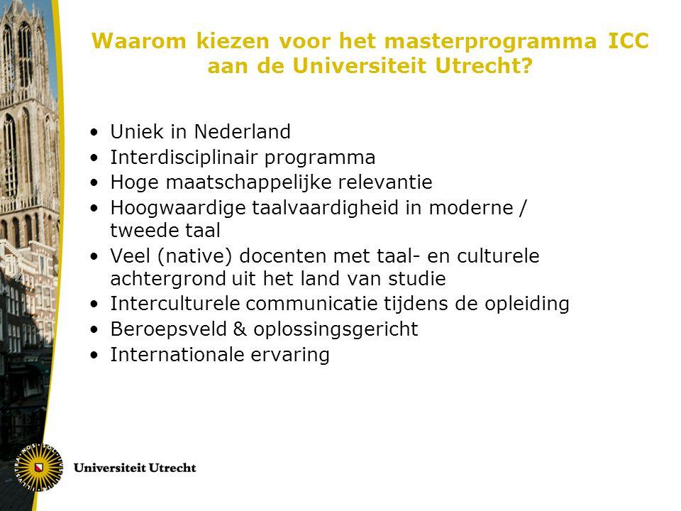 Waarom kiezen voor het masterprogramma ICC aan de Universiteit Utrecht