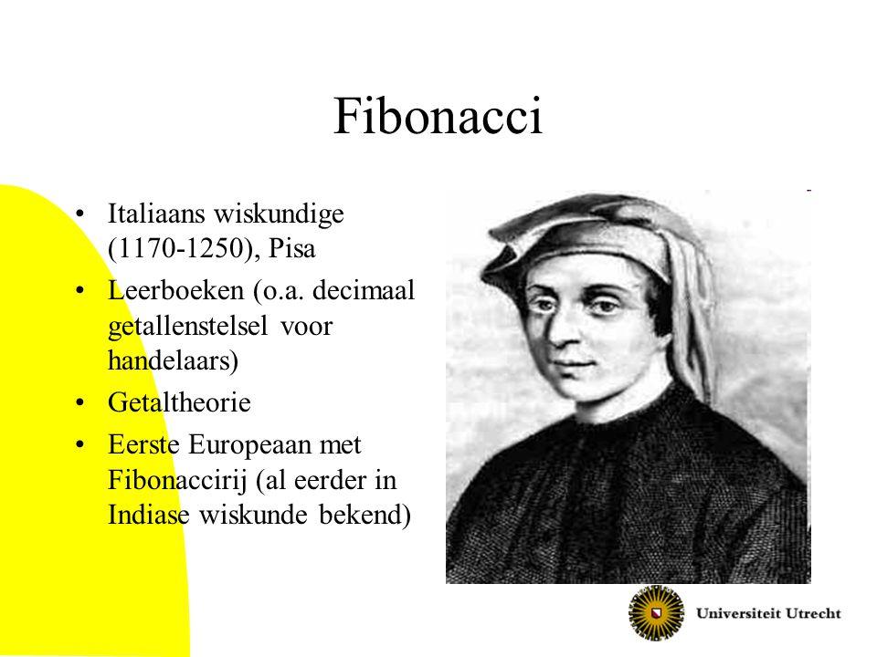 Fibonacci Italiaans wiskundige (1170-1250), Pisa