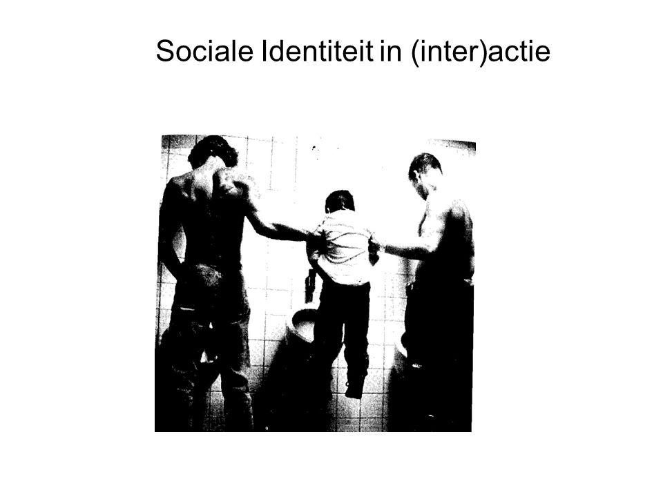 Sociale Identiteit in (inter)actie