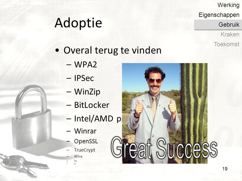 Great Success Adoptie Overal terug te vinden WPA2 IPSec WinZip