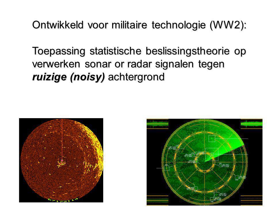 Ontwikkeld voor militaire technologie (WW2):
