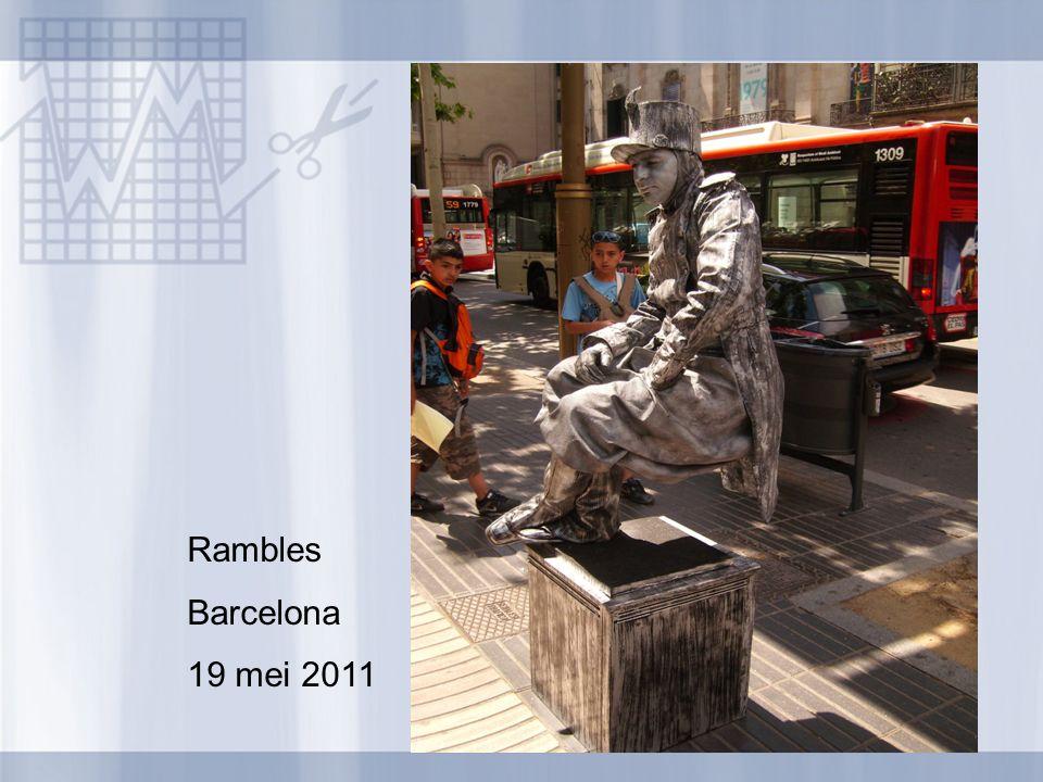 Rambles Barcelona 19 mei 2011