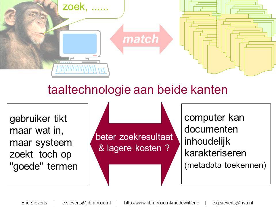 taaltechnologie aan beide kanten