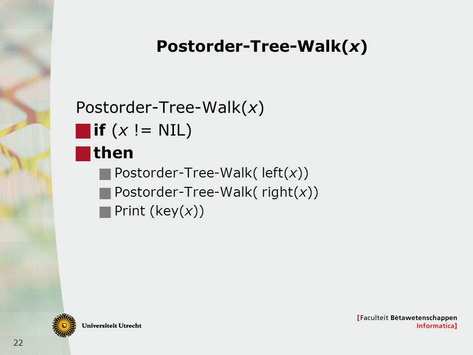 Postorder-Tree-Walk(x)