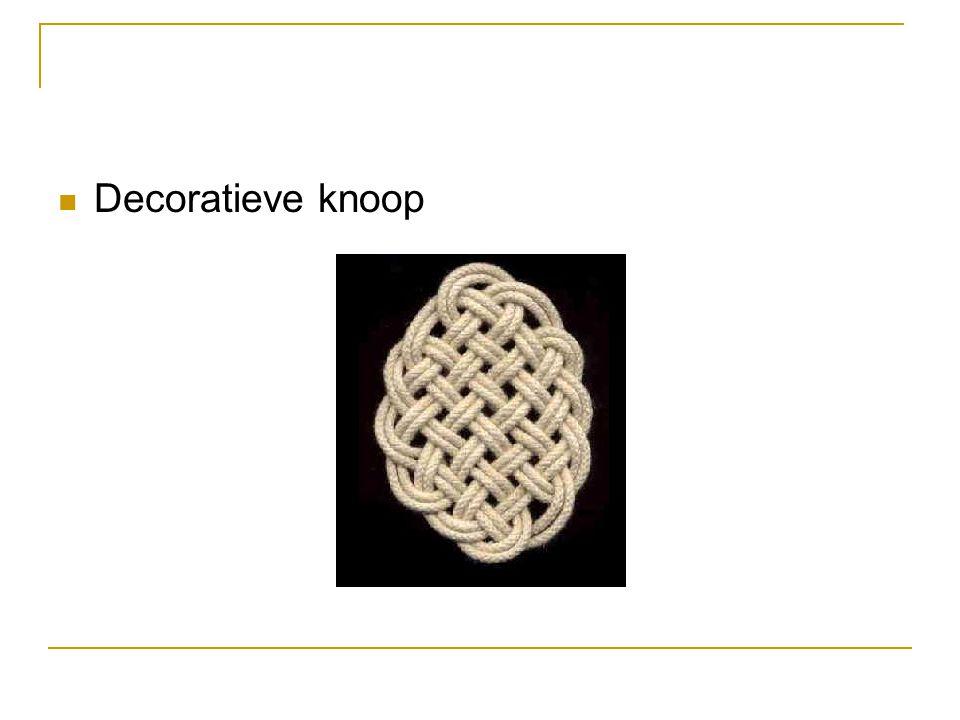 Decoratieve knoop