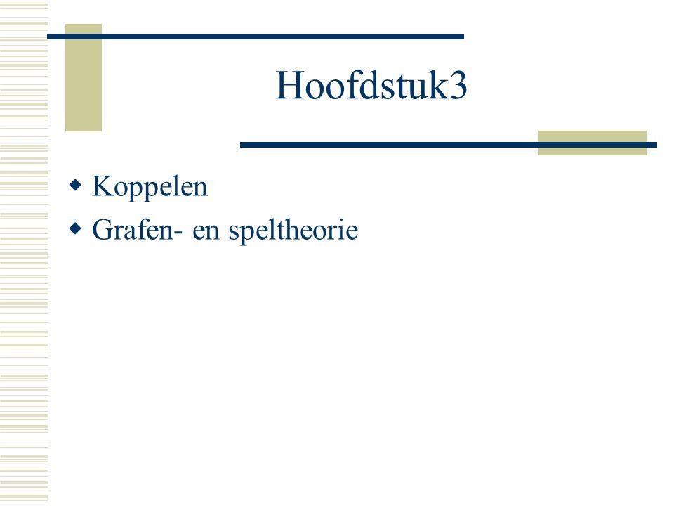 Hoofdstuk3 Koppelen Grafen- en speltheorie