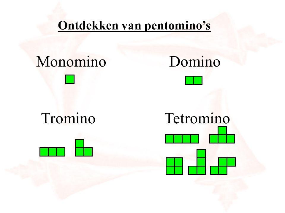 Ontdekken van pentomino's
